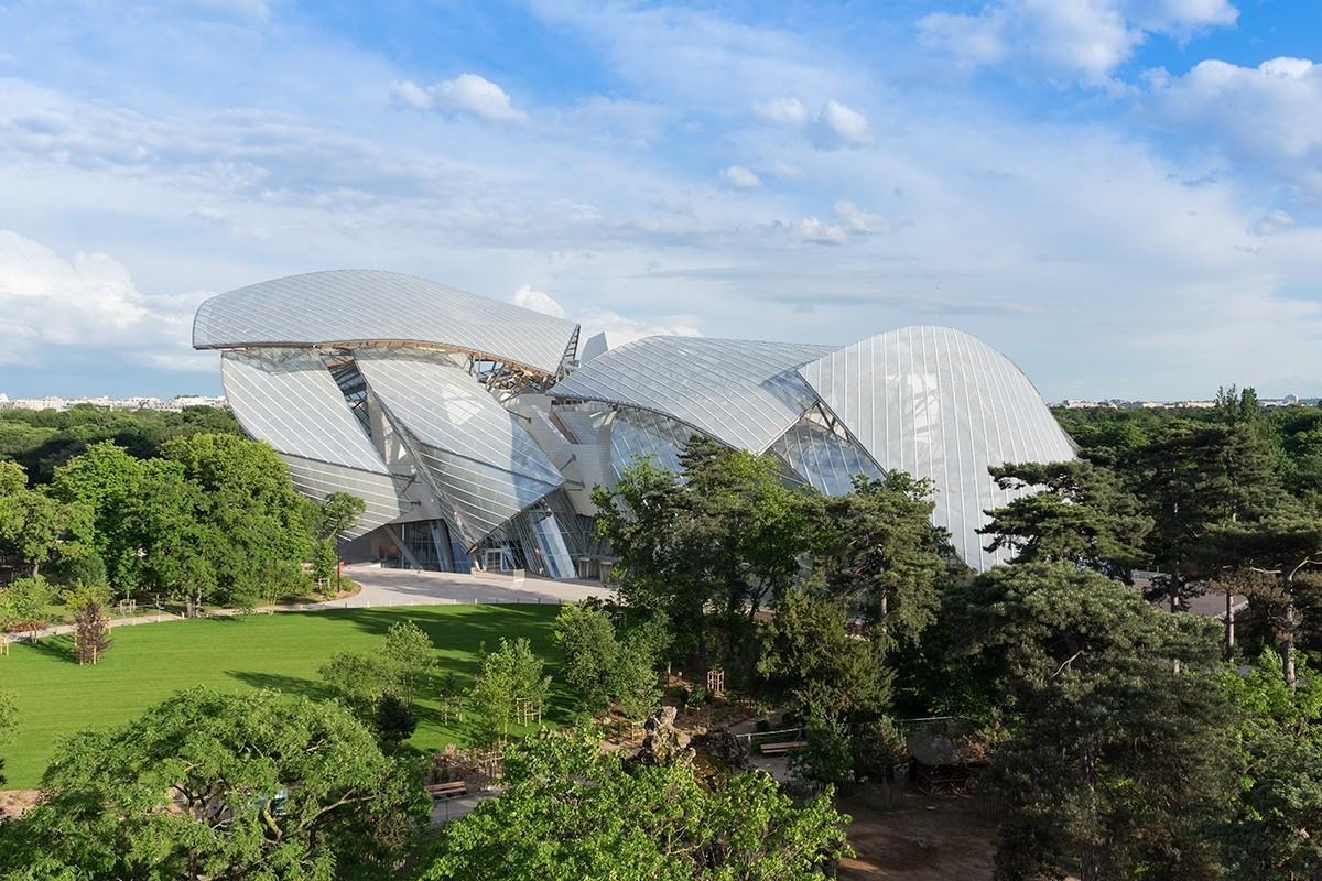 12. Iwan Baan for Fondation Louis Vuitton __Iwan Baan 2014 __Gehry partners LLP副本