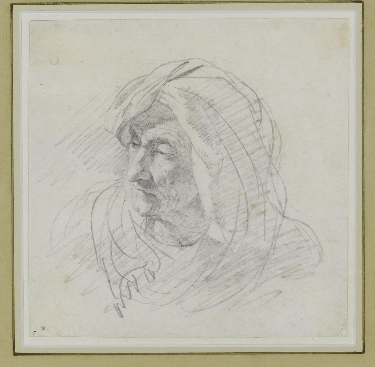 60. Head of a woman
