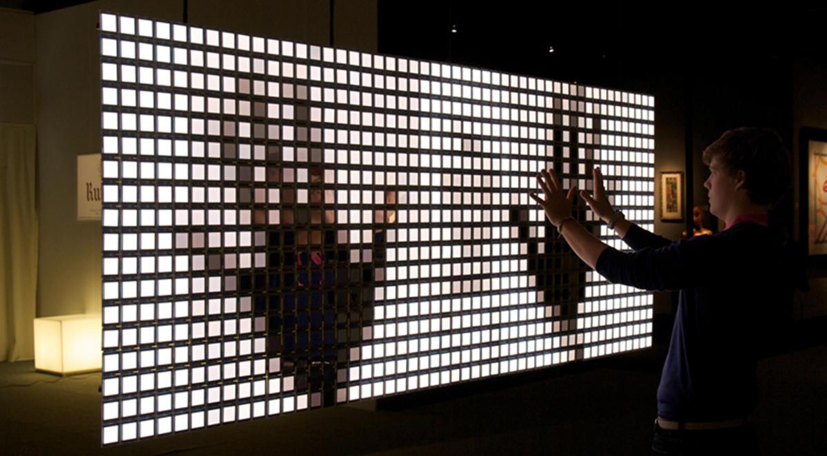 Lumiblade Interactive Wall in 2009,