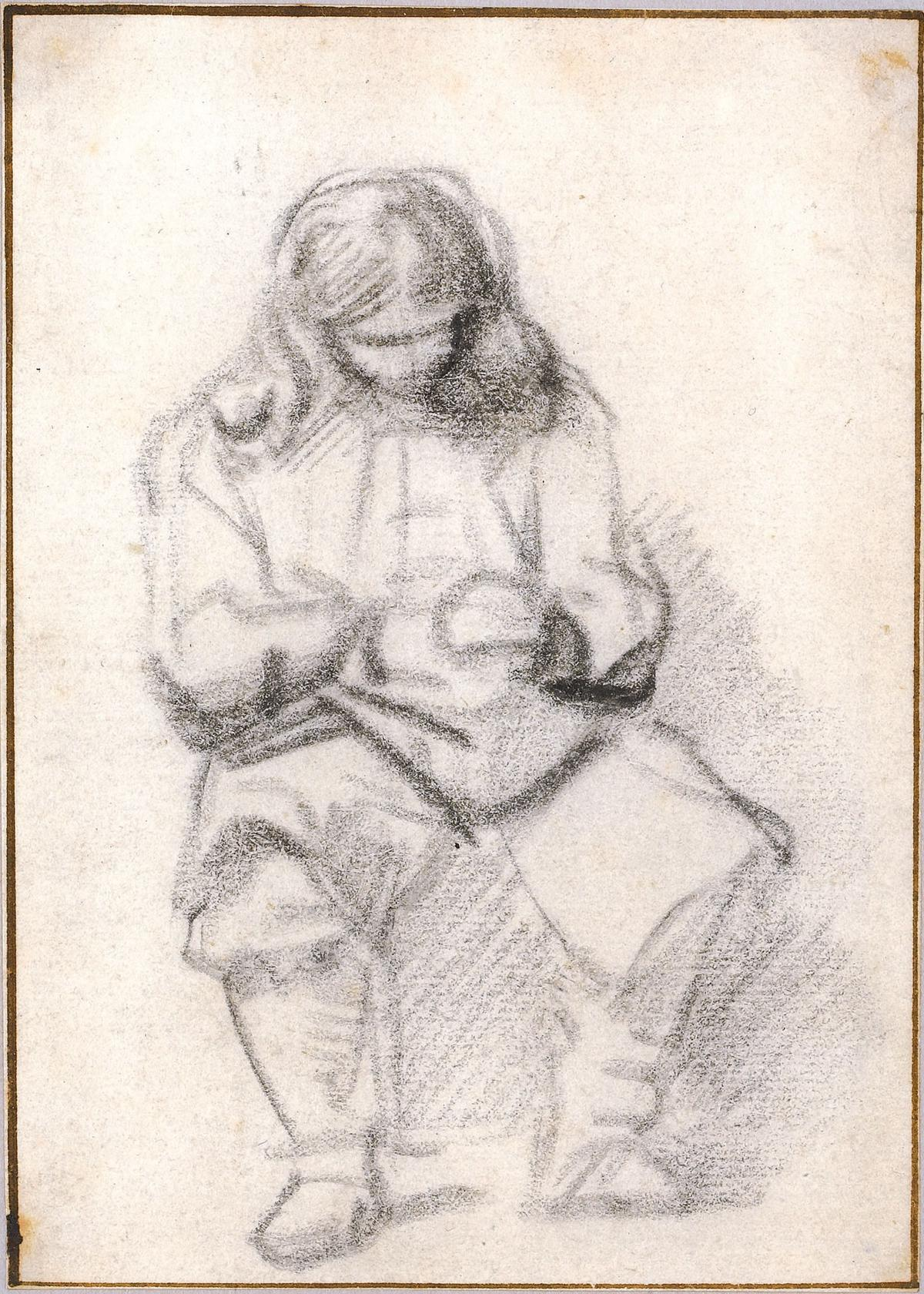 Rembrandt_Seated Man