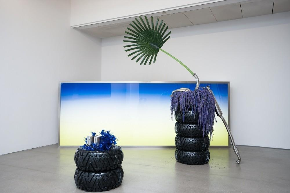 Installation view of SUNRISE by Guan Xiao