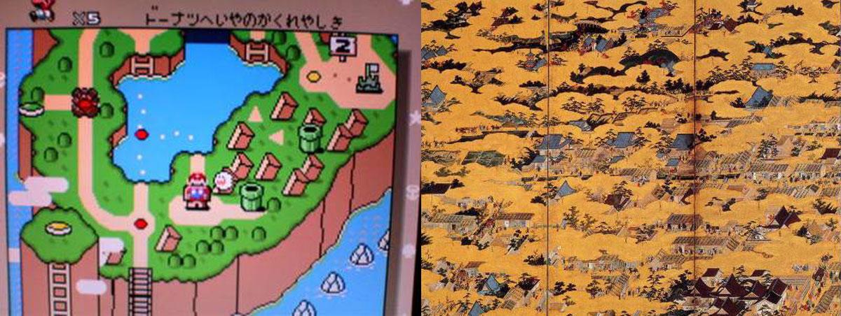 2-电子游戏与江湖时期画作