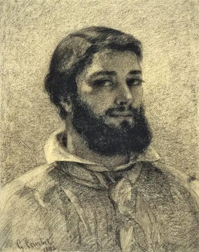 古斯塔夫·库尔贝自画像