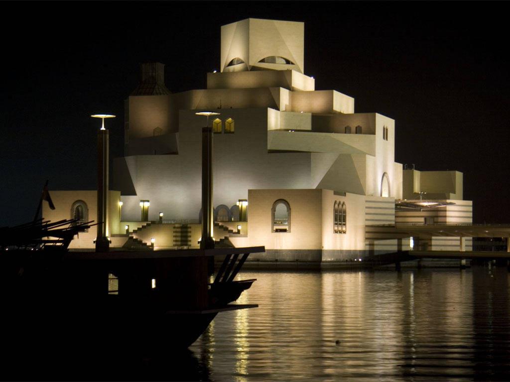 doha-at-night-museum-of-islamic-art