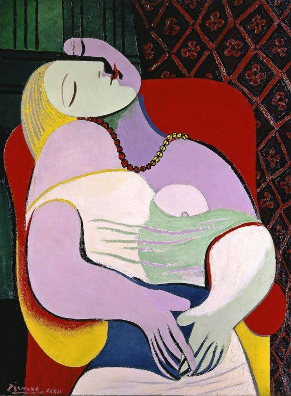 Pablo Picasso The Dream (Le Rêve) 1932, Private Collection © Succession Picasso:DACS, London 20
