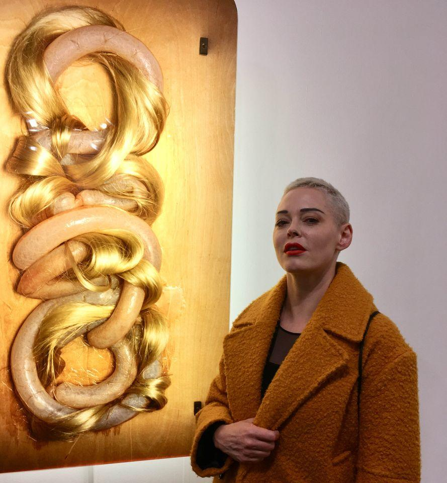 Rose McGowan. Photo: Louisa Buck
